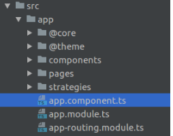 Root component